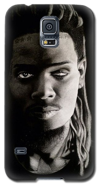 Fetty Wap Drawing Galaxy S5 Case by Angelee Borrero