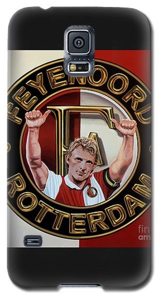 Feyenoord Rotterdam Painting Galaxy S5 Case by Paul Meijering