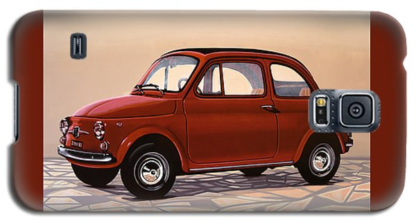 Beetle Galaxy S5 Case - Fiat 500 1957 Painting by Paul Meijering