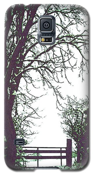 Field Gate Galaxy S5 Case by Anne Kotan