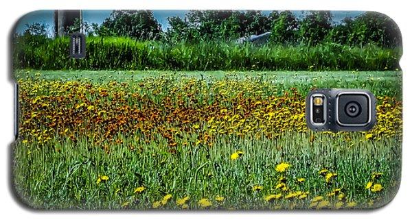 Field In June Galaxy S5 Case