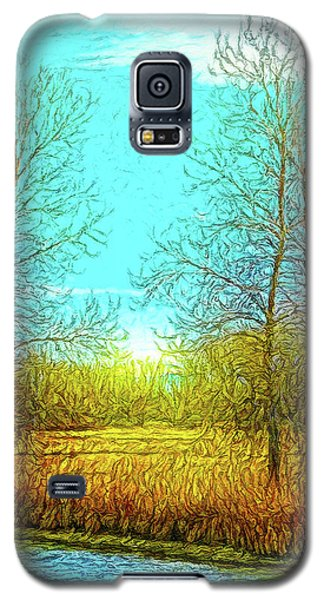 Field In Morning Light Galaxy S5 Case