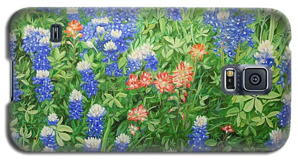 Field Of Blue Galaxy S5 Case by Mike Ivey