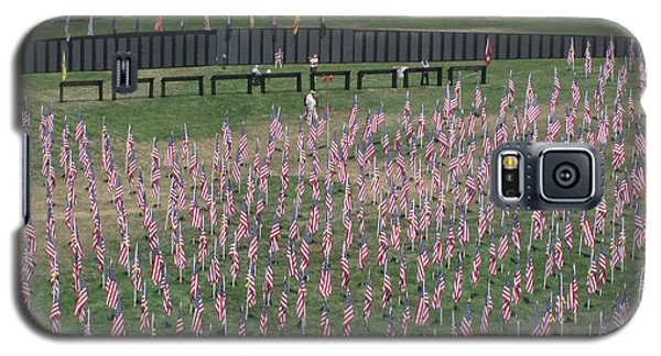 Field Of Flags - Gotg Arial Galaxy S5 Case