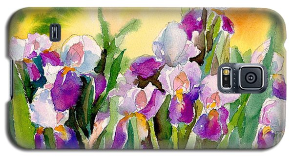 Field Of Irises Galaxy S5 Case by Yolanda Koh
