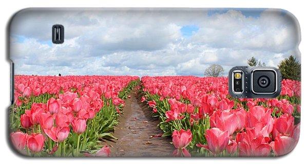 Field Of Pink Galaxy S5 Case