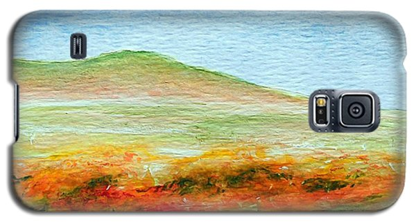 Galaxy S5 Case featuring the painting Field Of Poppies by Jamie Frier