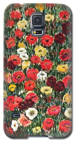 Field Of Puppies  Galaxy S5 Case