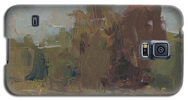 Fields Edge In Autumn Galaxy S5 Case