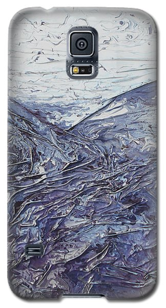 Fields Of Lavender Galaxy S5 Case by Angela Stout