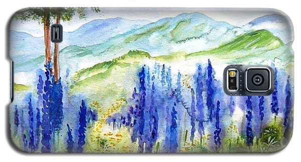 Fields Of Lupines Galaxy S5 Case