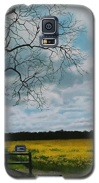 Fields Of Yellow Galaxy S5 Case