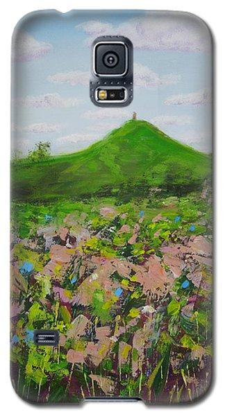 Fields To Glastonbury Tor Galaxy S5 Case
