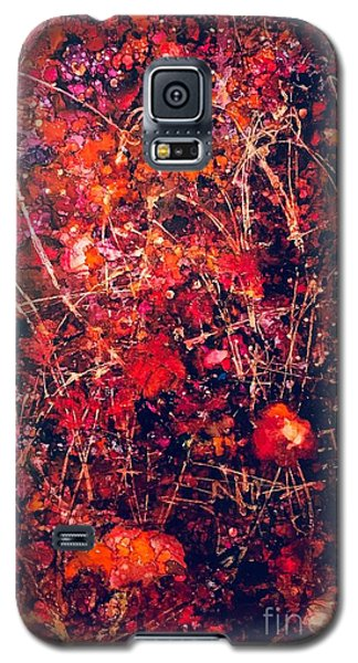 Fiery Crash Galaxy S5 Case