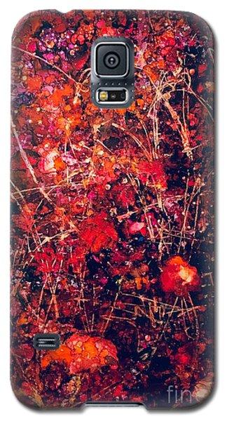 Fiery Crash Galaxy S5 Case