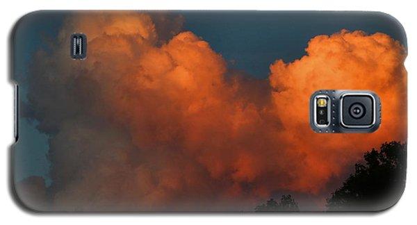 Fiery Cumulus Galaxy S5 Case by Kathryn Meyer