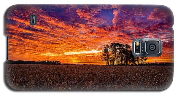 Fiery Dawn At Center Grove Galaxy S5 Case