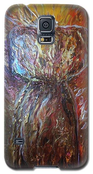 Fiery Earth Latte Stone Galaxy S5 Case