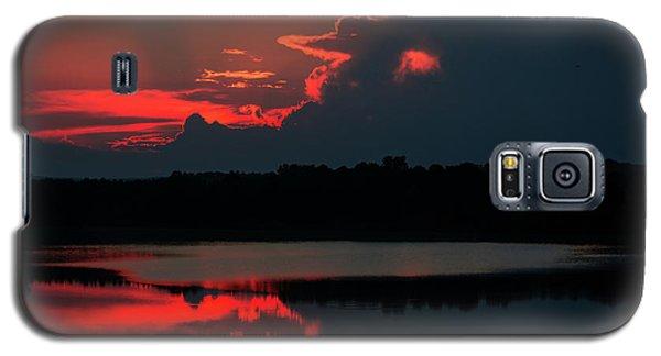 Fiery Evening Galaxy S5 Case