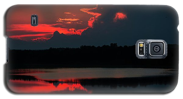 Fiery Evening Galaxy S5 Case