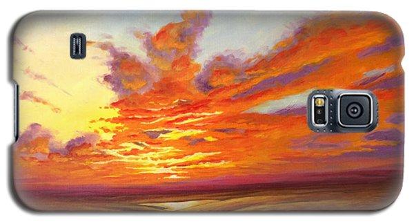 Fiery Flint Hills Sky Galaxy S5 Case
