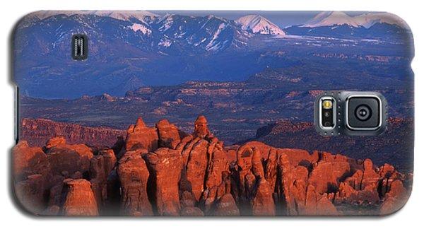 Fiery Furnace And La Sal Mountains Galaxy S5 Case
