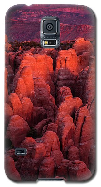 Galaxy S5 Case featuring the photograph Fiery Furnace by Dustin LeFevre