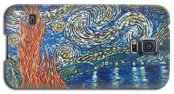 Fiery Night Galaxy S5 Case