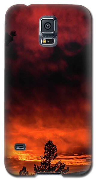 Fiery Sky Galaxy S5 Case