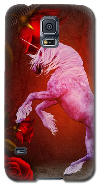 Fiery Unicorn Fantasy Galaxy S5 Case