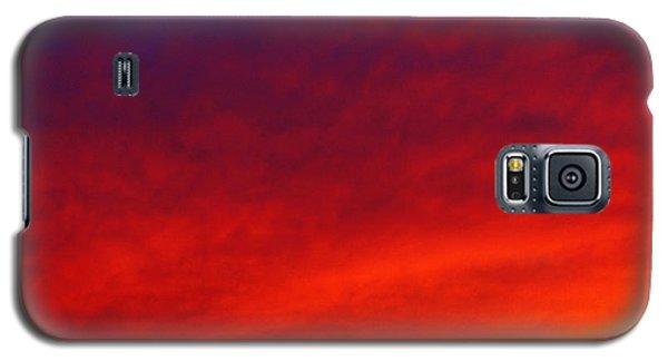 Fiery Vortex Galaxy S5 Case