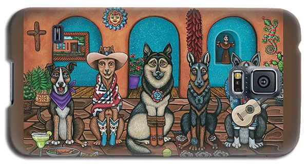 Fiesta Dogs Galaxy S5 Case