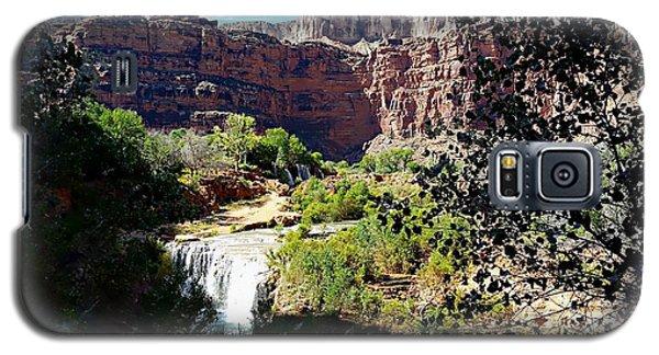 Fifty Falls And Havasupai Falls Havasupai Indian Reservation Galaxy S5 Case by Joseph Hendrix