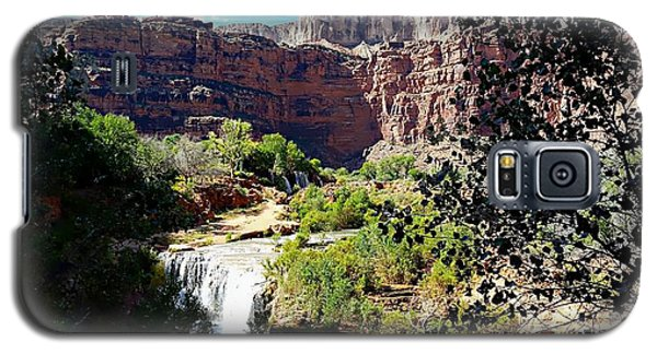Fifty Falls And Havasupai Falls Havasupai Indian Reservation Galaxy S5 Case by Joseph Hendrix