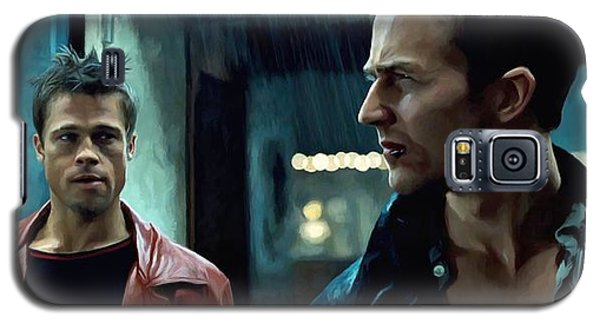 Fight Club #1 Large Size Painting Galaxy S5 Case