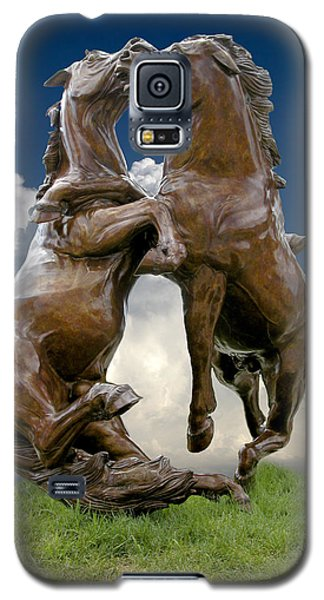 Fighting Stallions Galaxy S5 Case