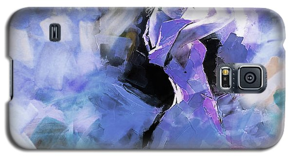 Galaxy S5 Case featuring the painting Figurative Dance Art 509w by Gull G