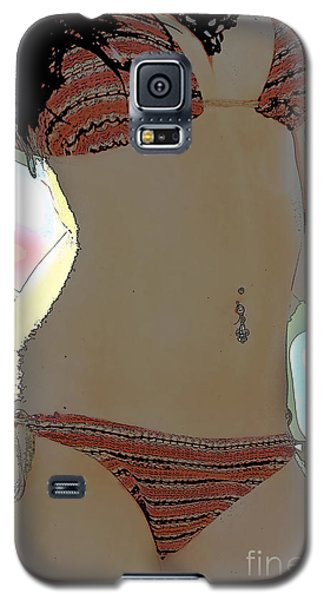 Galaxy S5 Case featuring the photograph Figure This by Tbone Oliver
