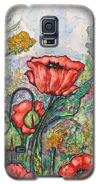 Filed Of Flowers #1 Galaxy S5 Case