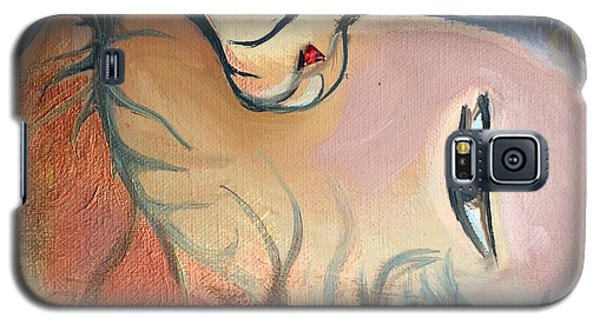 Fille Foret 4 Galaxy S5 Case by Art Ina Pavelescu