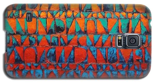 Galaxy S5 Case featuring the painting Final Regatta by Bernard Goodman
