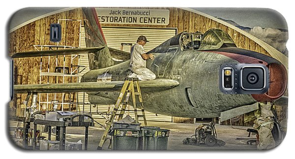 F-84f Thunderstreak Final Touches  Galaxy S5 Case