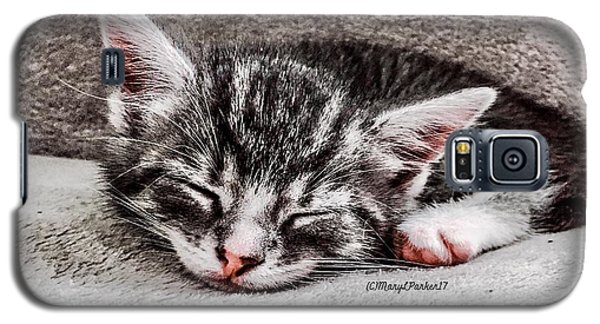Finally Asleep  Copyright Mary Lee Parker 17  Galaxy S5 Case