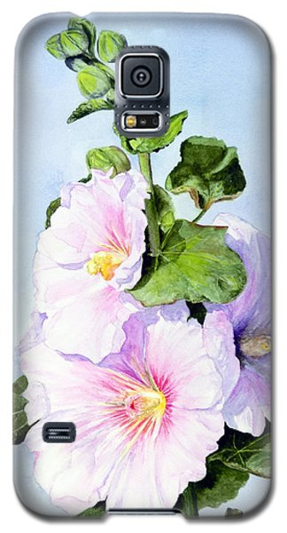 Finally Hollyhocks Galaxy S5 Case