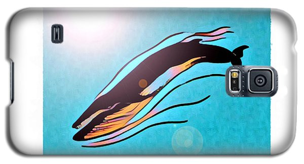 Finback Diving Through Krill Galaxy S5 Case