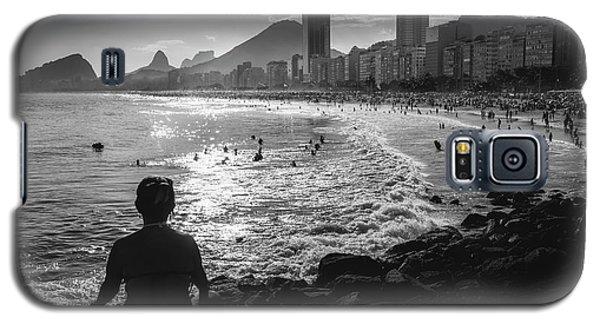 Fine Art Copacabana Rio De Janeiro, Brazil Galaxy S5 Case