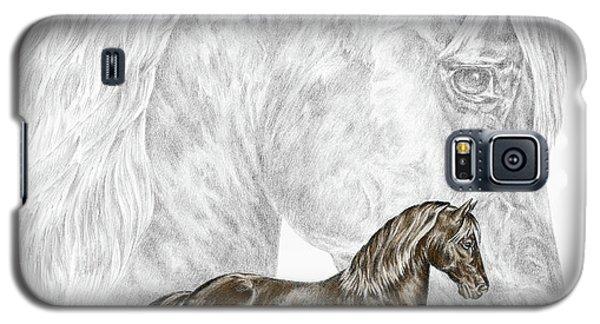 Fine Steps - Paso Fino Horse Print Color Tinted Galaxy S5 Case