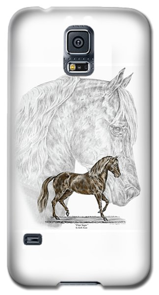 Fine Steps - Paso Fino Horse Print Color Tinted Galaxy S5 Case