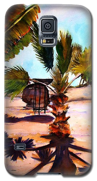 Galaxy S5 Case featuring the painting Finesterra by Marti Green