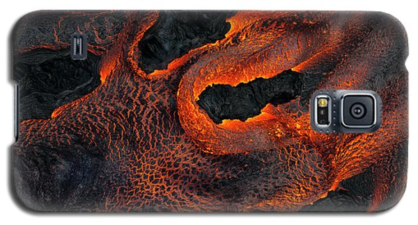 Fingers Of Lava Galaxy S5 Case